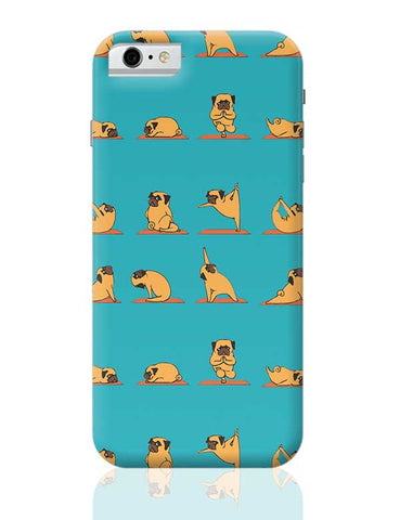 PUG YOGA iPhone 6 / 6S Covers Cases