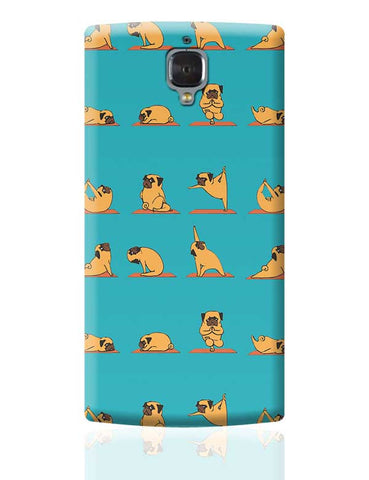 PUG YOGA OnePlus 3 Covers Cases Online India