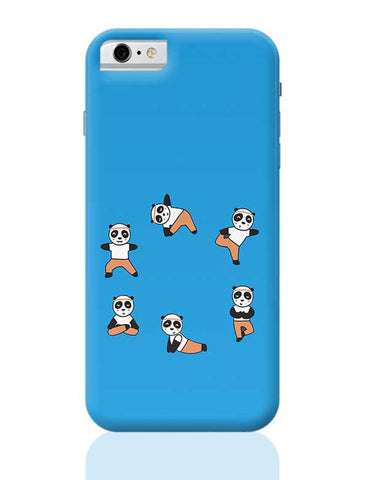 PANDA Yoga iPhone 6 / 6S Covers Cases