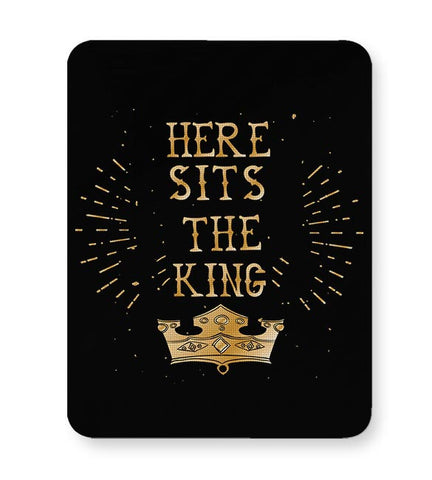 Here Sits the King Mousepad Online India