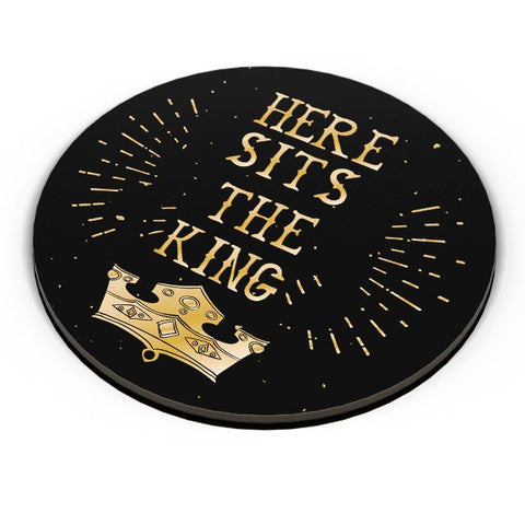 Here Sits the King Fridge Magnet Online India