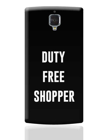 DUTY FREE SHOPPER OnePlus 3 Covers Cases Online India