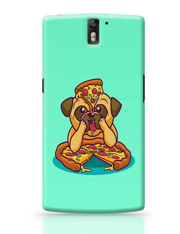 Pug Pizza OnePlus One Covers Cases Online India