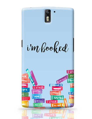 I am Booked OnePlus One Covers Cases Online India