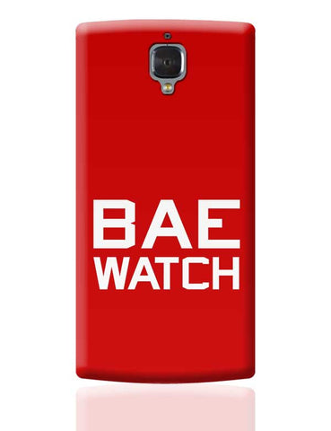 BAE WATCH OnePlus 3 Covers Cases Online India