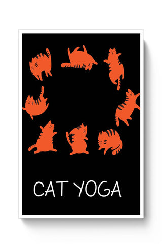 CAT YOGA Poster Online India