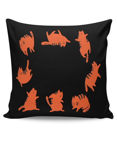 CAT YOGA Cushion Cover Online India