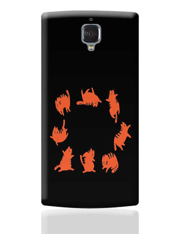 CAT YOGA OnePlus 3 Covers Cases Online India