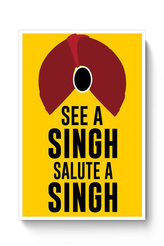 See A Singh, Salute A Singh Poster Online India