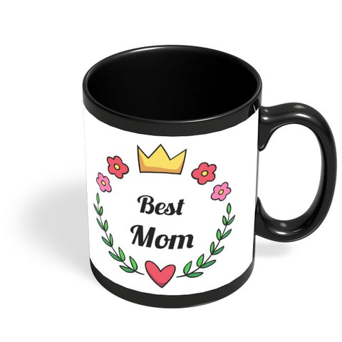 BEST MOM Black Coffee Mug Online India