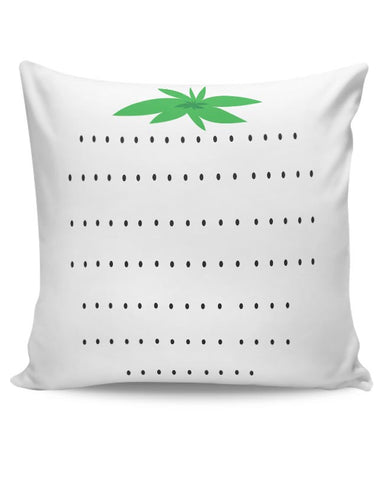 Food, Strawberry, Pink Cushion Cover Online India