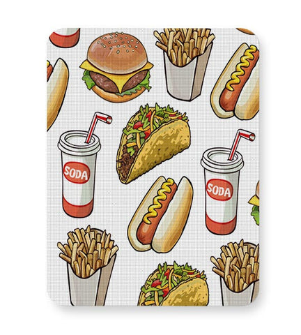 Food Pattern Mousepad Online India