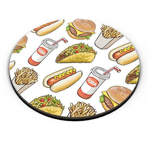 Food Pattern Fridge Magnet Online India