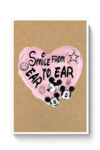 Smile From Ear To Ear Poster Online India