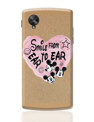 Smile From Ear To Ear Google Nexus 5 Covers Cases Online India
