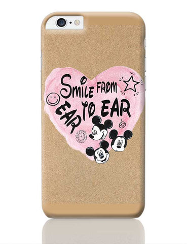 Smile From Ear To Ear iPhone 6 Plus / 6S Plus Covers Cases Online India