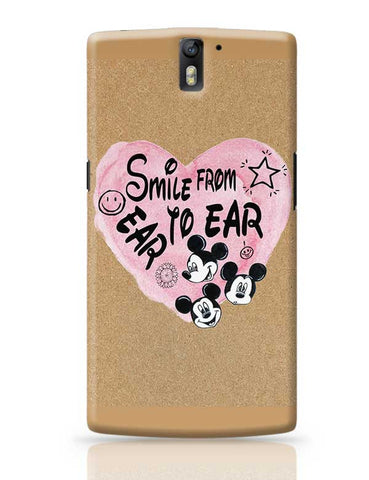 Smile From Ear To Ear OnePlus One Covers Cases Online India