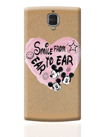 Smile From Ear To Ear OnePlus 3 Covers Cases Online India