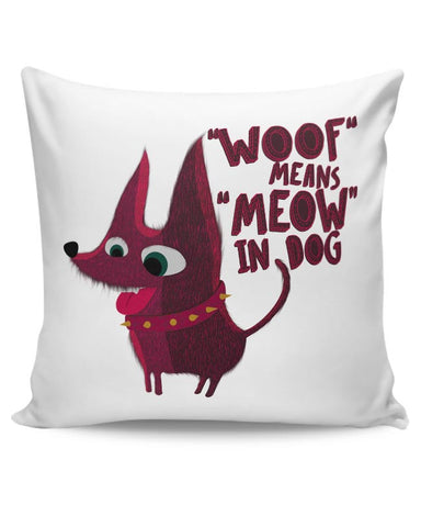 Woof Cushion Cover Online India