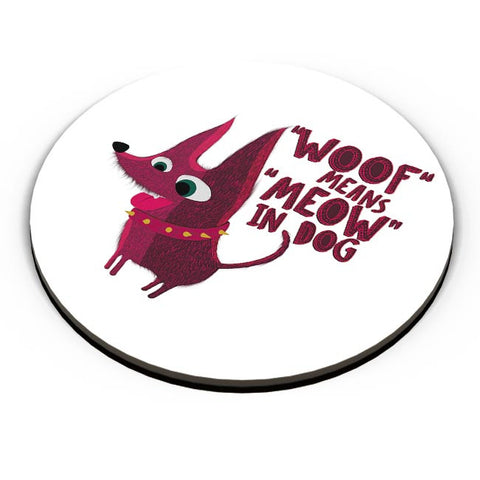 Woof Fridge Magnet Online India
