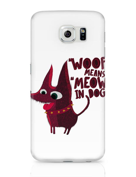 Woof Samsung Galaxy S6 Covers Cases Online India