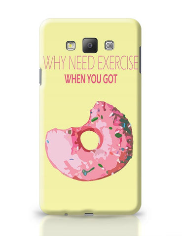 Doughnut Lover Samsung Galaxy A7 Covers Cases Online India