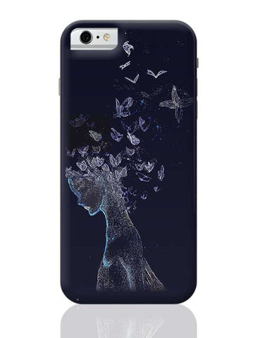 Butterfly, Abstract, Night, Woman, Free, Posterguy iPhone 6 / 6S Covers Cases