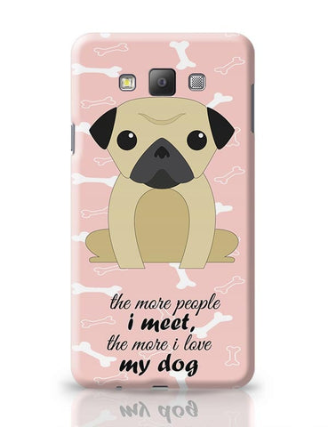 Cute Dog Samsung Galaxy A7 Covers Cases Online India