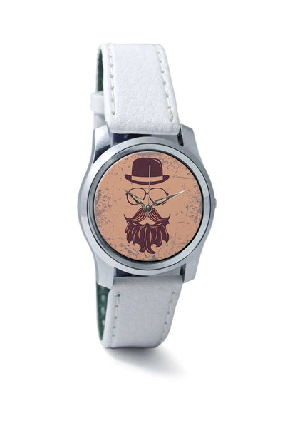 Women Wrist Watch India | Vintage Maroon Hipster Wrist Watch Online India