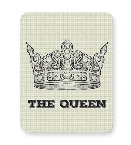 A Queen Never Mousepad Online India