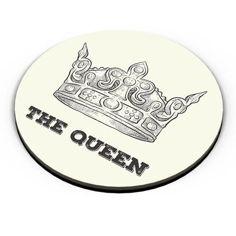A Queen Never Fridge Magnet Online India