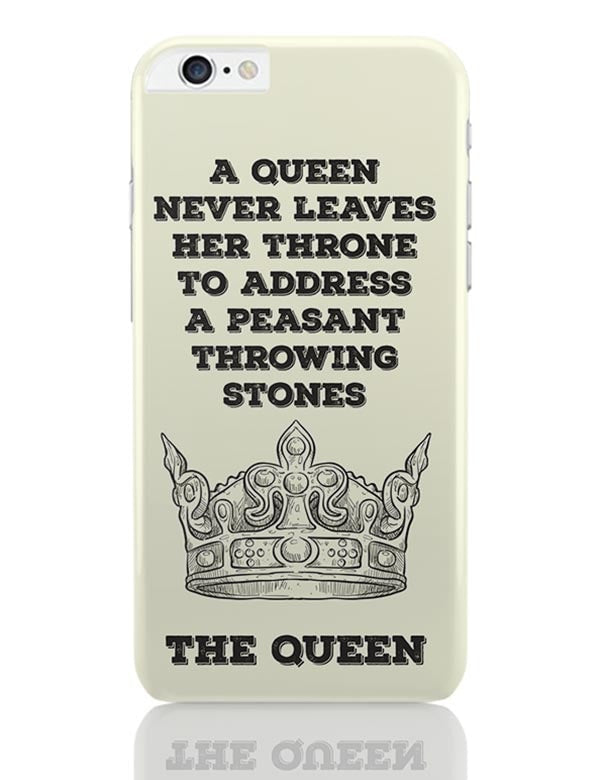 buy online 0ae00 551c3 A Queen Never iPhone 6 Plus / 6S Plus Covers Cases