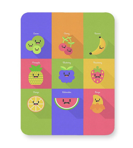 Fruits,Fruit,Healthy Fruit,Apple,Lemon,Cheery,Strawberry Mousepad Online India