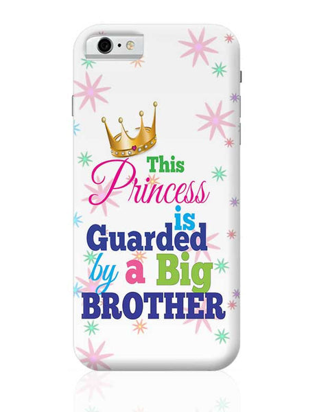 Raksha Bandhan, Brother Sister love,little sister, Bhai dooj,Princess Sister,Sister,sweet sister iPhone 6 6S Covers Cases Online India