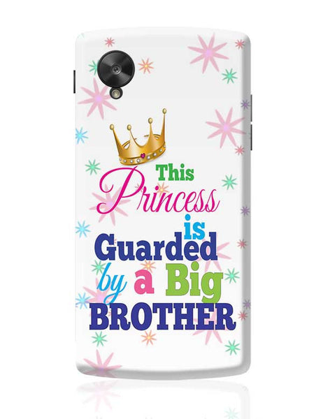 Raksha Bandhan, Brother Sister love,little sister, Bhai dooj,Princess Sister,Sister,sweet sister Google Nexus 5 Covers Cases Online India