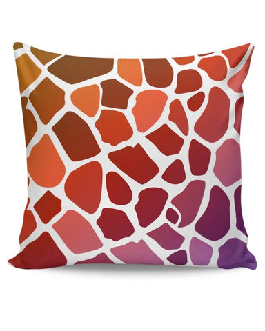 Abstract Giraffe Print Cushion Cover Online India