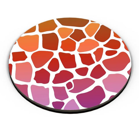 Abstract Giraffe Print Fridge Magnet Online India