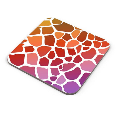 Abstract Giraffe Print Coaster Online India