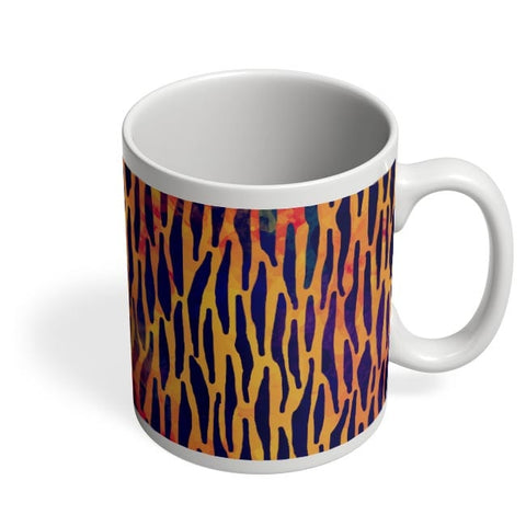 Abstract Tiger Print Coffee Mug Online India