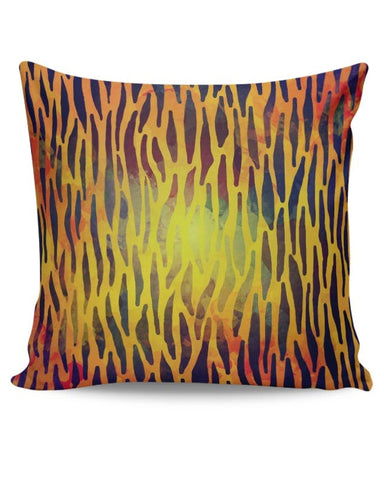 Abstract Tiger Print Cushion Cover Online India