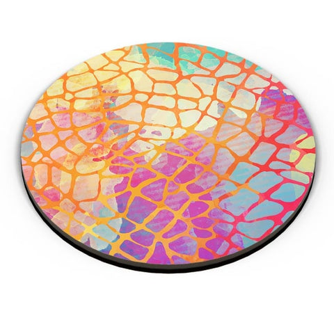 Abstract Rainbow Animal Print Fridge Magnet Online India