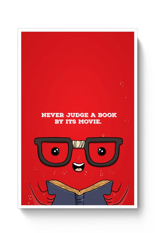 Buy Never judge a book by its movie Poster