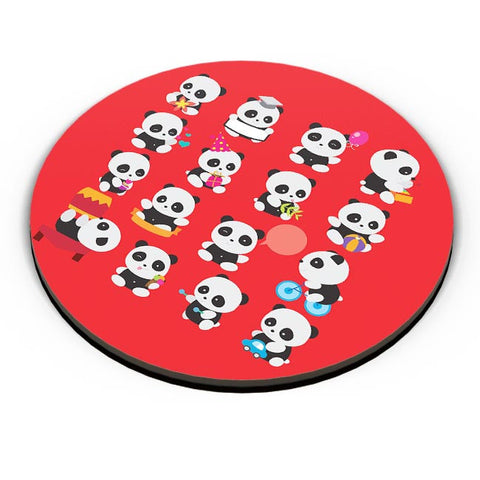 Panda Family Fridge Magnet Online India