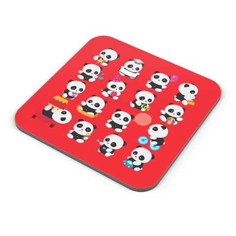Panda Family Coaster Online India