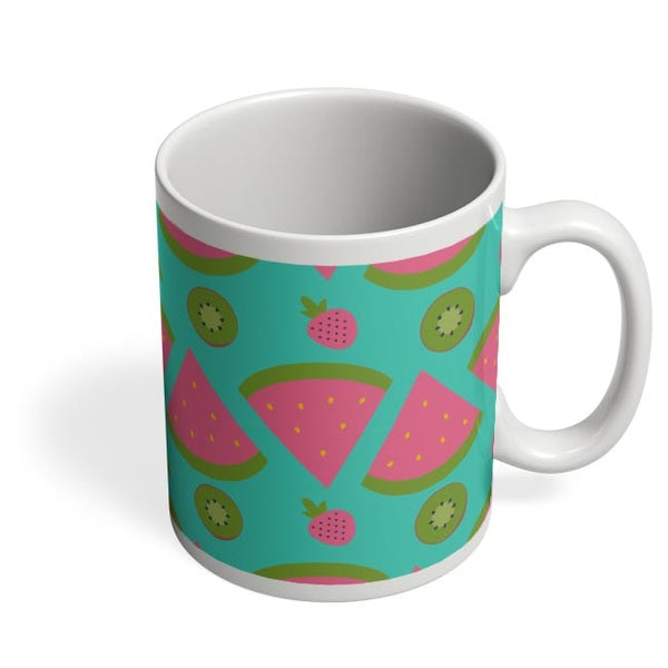 """Watermelon "" sky blue backgrond Coffee Mug Online India"