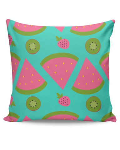 """Watermelon "" sky blue backgrond Cushion Cover Online India"