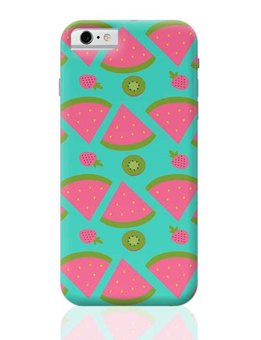 """Watermelon "" sky blue backgrond iPhone 6 6S Covers Cases Online India"