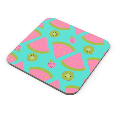 """Watermelon "" sky blue backgrond Coaster Online India"