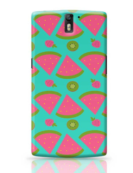 """Watermelon "" sky blue backgrond OnePlus One Covers Cases Online India"