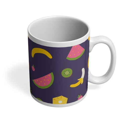 """Watermelon ""  blue backgrond Coffee Mug Online India"